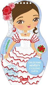 Obálka titulu Oblékáme nevěsty z celého světa – Omalovánky