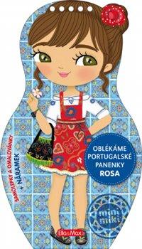 Obálka titulu Oblékáme portugalské panenky Rosa – Omalovánky
