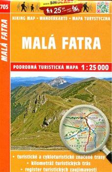 Malá Fatra / Turistická mapa SHOCart