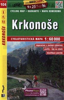 Obálka titulu Cykloturistická mapa SHOCart - Krkonoše 1:60 000