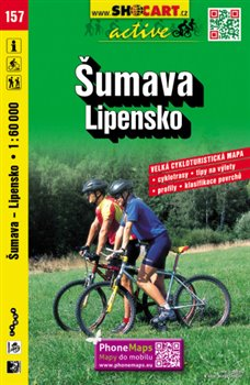 Obálka titulu Cykloturistická mapa SHOCart - Šumava, Lipensko 1:60 000
