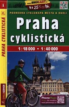 Cykloturistická mapa SHOCart - Praha 1:18 000