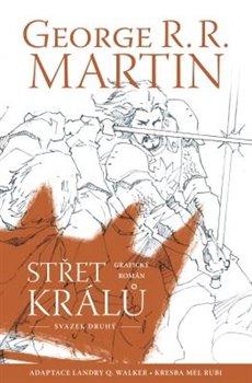Obálka titulu Střet králů - komiks