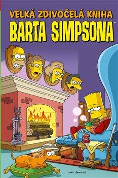 Obálka titulu Velká zdivočelá kniha Barta Simpsona