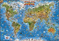 Obálka titulu Dětská mapa světa