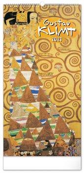 Obálka titulu Nástěnný kalendář Gustav Klimt 2021, 33 × 64 cm