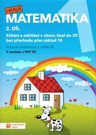Hravá matematika 1 -  pracovní učebnice - 2. díl