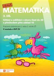 Hravá matematika 1 -  pracovní učebnice - 3. díl