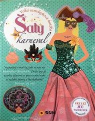 Šaty na karneval - velká samolep. knížka