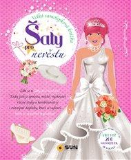 Šaty pro nevěstu - velká samolep. knížka