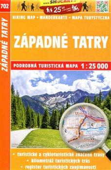 Západné Tatry / Turistická mapa SHOCart