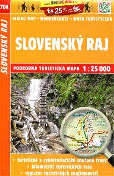 Slovenský Ráj / Turistická mapa SHOCart