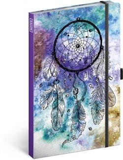 Notes Lapač snů, linkovaný, 13 × 21 cm