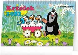 Obálka titulu Stolní kalendář Krteček 2021, 23,1 × 14,5 cm