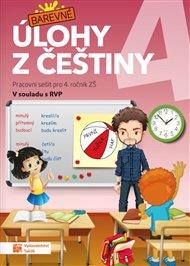 Barevné úlohy z češtiny pro 4. ročník
