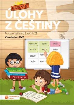 Obálka titulu Barevné úlohy z češtiny pro 5. ročník