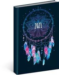 Denní diář Cambio Fun 2021, Lapač snů, 15 × 21 cm