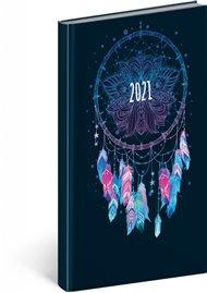 Kapesní diář Cambio Fun 2021, Lapač snů, 9 × 15,5 cm