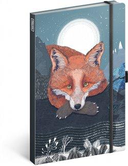 Obálka titulu Notes Animalium – Lucie Jenčíková, linkovaný, 13 × 21 cm