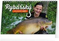 Stolní Rybářský kalendář 2021, 23,1 × 14,5 cm