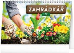 Obálka titulu Stolní kalendář Zahrádkář 2021, 23,1 × 14,5 cm