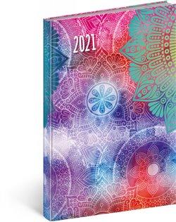 Obálka titulu Týdenní diář Cambio Fun 2021, Mandala, 15 × 21 cm