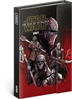 Obálka titulu Týdenní magnetický diář Star Wars 2021, 11 × 16 cm