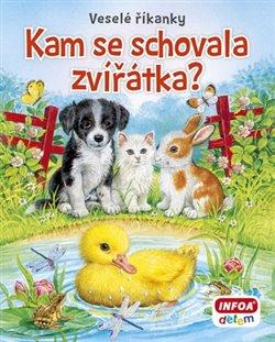 Obálka titulu Veselé říkanky - Kam se schovala zvířátka?