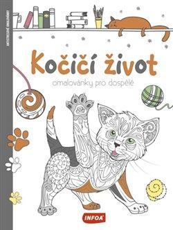 Obálka titulu Omalovánky pro dospělé - Kočičí život