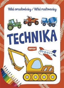 Obálka titulu Velké omalovánky/Veľké maľovanky - Technika