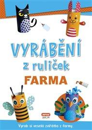 Vyrábění z ruliček - FARMA + samolepky