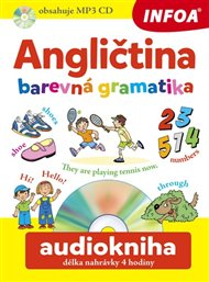 Audiokniha - Angličtina - Barevná gramatika + mp3  CD