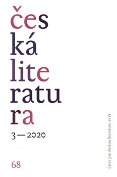 Obálka titulu Česká literatura 3/2020