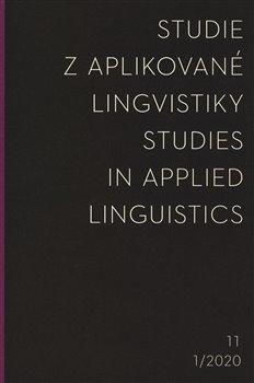 Studie z aplikované lingvistiky 1/2020