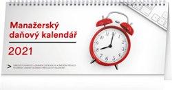 Stolní kalendář Manažerský daňový 2021, 33 × 14,5 cm
