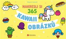 Obálka titulu Nakresli si 365 kawaii obrázků