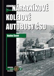 Jednonárazníkové kolejové autobusy ČSD