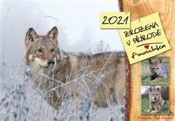 Obálka titulu Zrozena v přírodě - Anuschka - kalendář 2021
