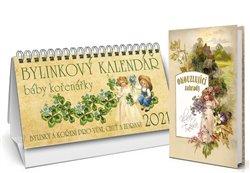 Obálka titulu Bylinkový kalendář 2021 + Okouzlující zahrady