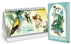 Obálka titulu Trnkův stolní kalendář 2021 + Nejkrásnější pohádky