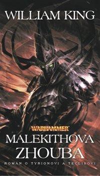 Obálka titulu Malekithova zhouba - Warhammer