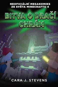 Obálka titulu Bitva o dračí chrám: Neoficiální megakomiks ze světa Minecraftu 4