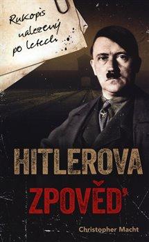 Obálka titulu Hitlerova zpověď