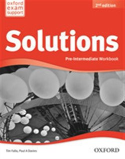 Obálka titulu Maturita Solutions 2nd Edition Pre-intermediate Workbook International Edition