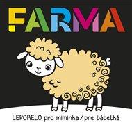 Leporelo pro miminka / pre bábetká - Farma