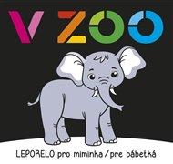 Leporelo pro miminka / pre bábetká - V zoo