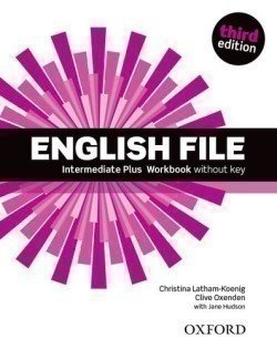 Obálka titulu English File Third Edition Intermediate Plus Workbook Without Answer Key