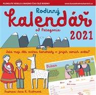 Rodinný kalendář 2021 Patagonie
