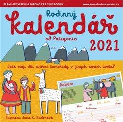 Obálka titulu Rodinný kalendář 2021 Patagonie