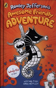 Obálka titulu Rowley Jefferson´s Awesome Friendly Adventure